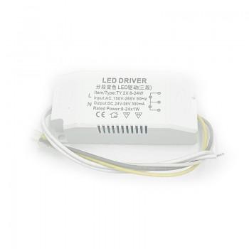 24W/36W/50W LED Triple Color Driver