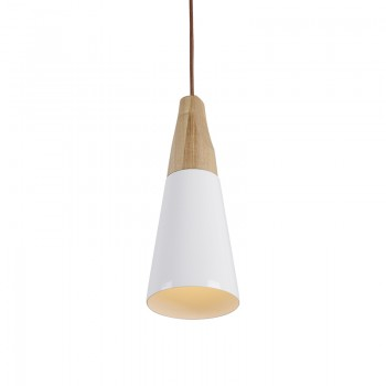 Contemporary Wooden Pendant