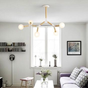 Wooden Ceiling Light