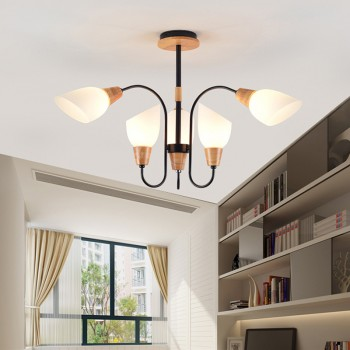 LED Wooden Ceiling Light (Last 2 Pieces)