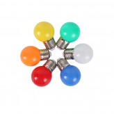 Colorful LED Bulb (3W)