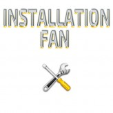 Installation Fan -Concrete Ceiling