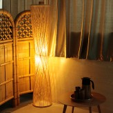 Bamboo Floor Light