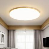 Smart LED Wooden Ceiling Light