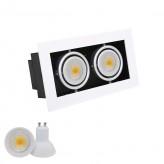 220V/5W MR16 LED Grille Light