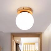 Wooden Ceiling Light