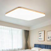 Smart LED Wooden Ceiling Light