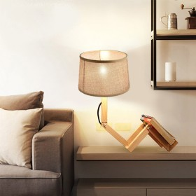 Wooden Table Light